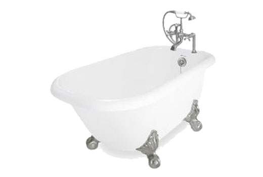 Jester Air-Jetted Clawfoot Tub