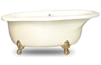 Ball & Claw Tub with Whirlpool Jets