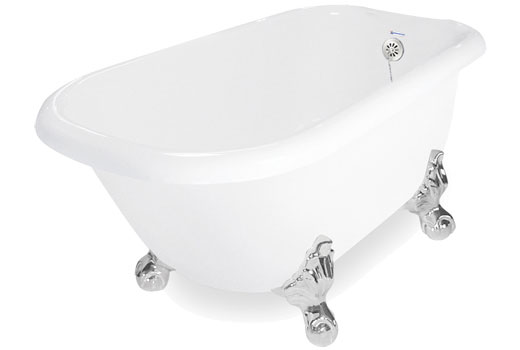 Jetted Clawfoot Tub Champagne Jester 4 1 2 By