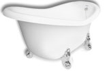 Princess Clawfoot Slipper Bath Tub