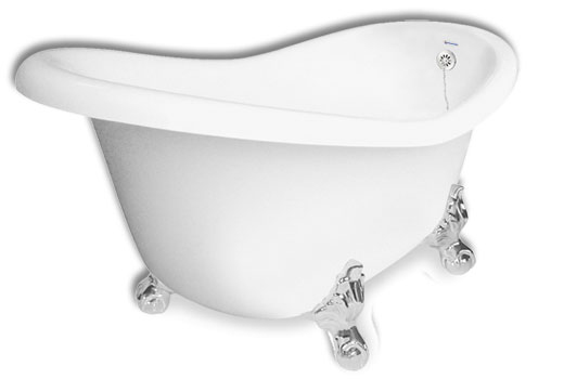 Clawfoot Slipper Tub Princess 60 Inch