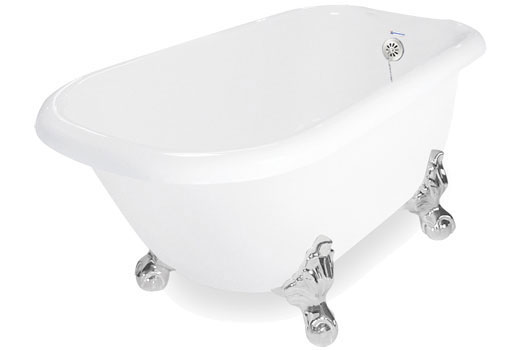 Jetted Clawfoot Tub Champagne Maverick By American