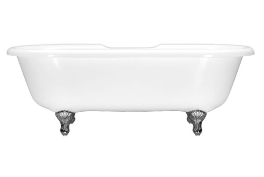 Dual Ended Clawfoot Bath Tub 71.5 Inch Fiona 7239CF