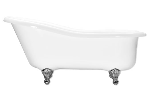 Aquatic Grace 6634F Slipper Tub 66 Inch