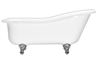 66 Inch Clawfoot Slipper Tub Grace 6634F