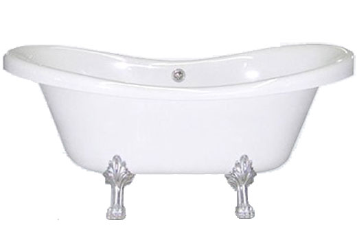 Dual Ended Slipper Tub 72 Inch Julius