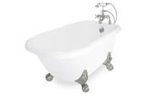Ball & Claw Tub Foot Satin Nickel
