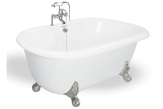 60 Quot Dual Ended Clawfoot Tub Melinda By American Bath Factory