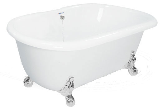 Dual Ended Clawfoot Bath Tub Melinda
