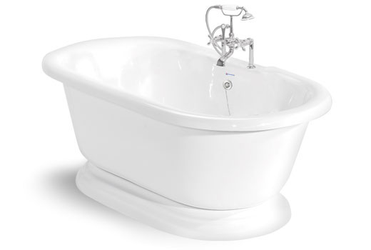 Nobb Hill 5 Foot Pedestal Tub