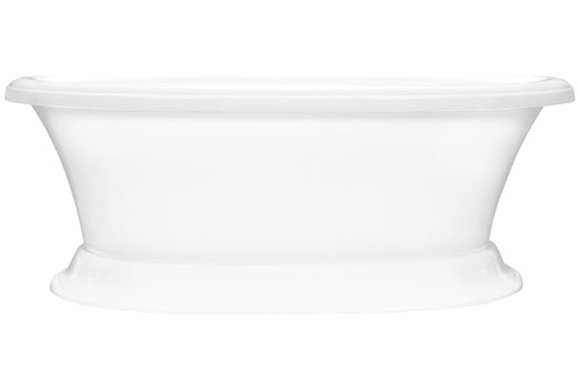 Carrington 6638CF 5.5 Foot Pedestal Tub
