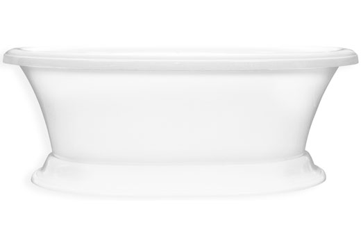 Carrington 7240CF 6 Foot Pedestal Tub